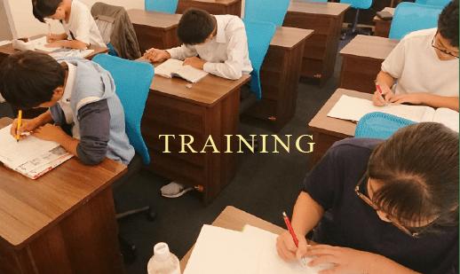 授業から特訓へシフト 授業は勉強のほんの一部