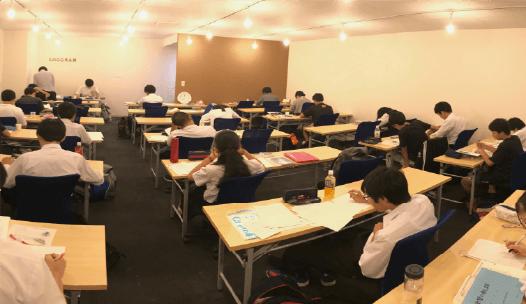 ロググラム予備校の授業・勉強風景
